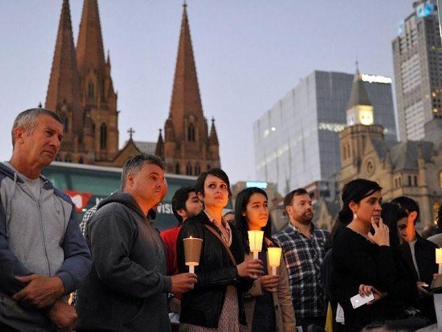 Asylum Seeker Vigil Australia AFP