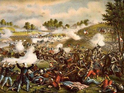 Battle of Bull Run Library of Congress