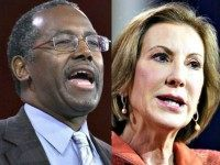 Ben Carson ALex Wong Getty Carly Fiorina AP