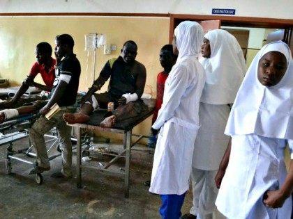 Boko Haram Bomb Victims AFP