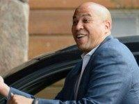 Cory Booker, Mayor of Newark, New Jersey, arrives for the Allen & Company Sun Valley Conference on July 10, 2012 in Sun Valley, Idaho. Warren Buffett, Bill Gates and Mark Zuckerberg have been invited to attend the conference which begins Tuesday. (Photo by