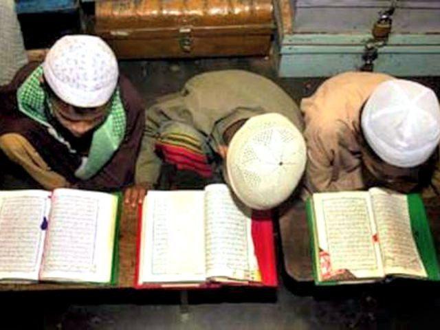 Boys Study Koran AP PhotoPavel Rahman