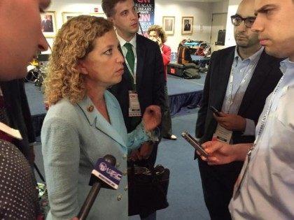 Debbie Wasserman Schultz (Joel Pollak / Breitbart News)
