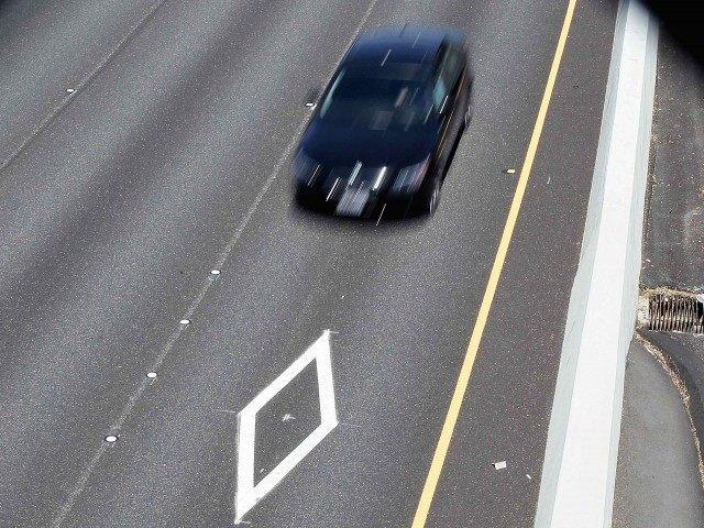 Car pool lane (Justin Sullivan / Getty)