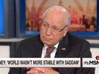 Cheney: The White House Doesn't Listen to the Military