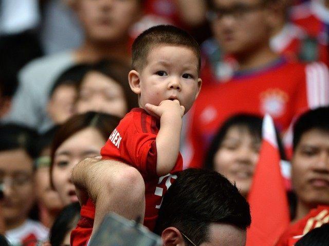 Chinese boy (Wang Zhao / AFP / Getty)
