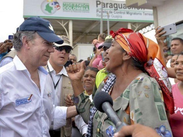 REUTERS/EFRAIN HERRERA/COLOMBIAN PRESIDENCY/HANDOUT VIA REUTERS