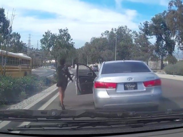 Driver Leaves Car (Screenshot / UlikeUC Here / YouTube)