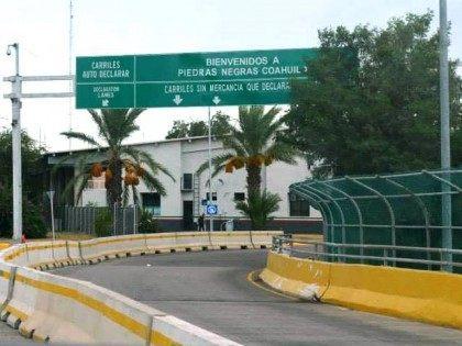 Eagle Pass Entry into Mexico