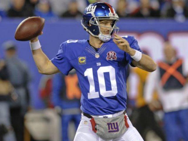 Eli Manning Bill Kostroun AP
