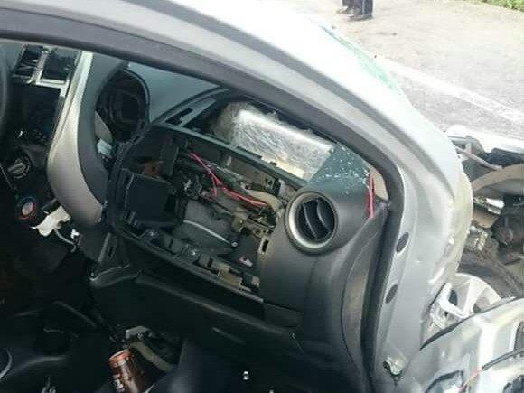 Cocaine airbag