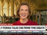 Fiorina: Non-Criminal Illegals 'Can Earn a Pathway to Legal Status' After Border Is Secured