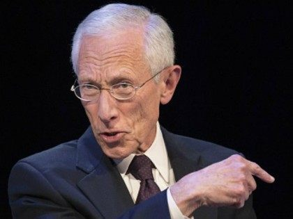 Federal Reserve Vice Chair Stanley Fischer speaks during a CNN Debate on the Global Economy in Washington, DC, October 9, 2014, ahead of the International Monetary Fund (IMF)/World Bank meetings. AFP PHOTO / Jim WATSON (Photo credit should read