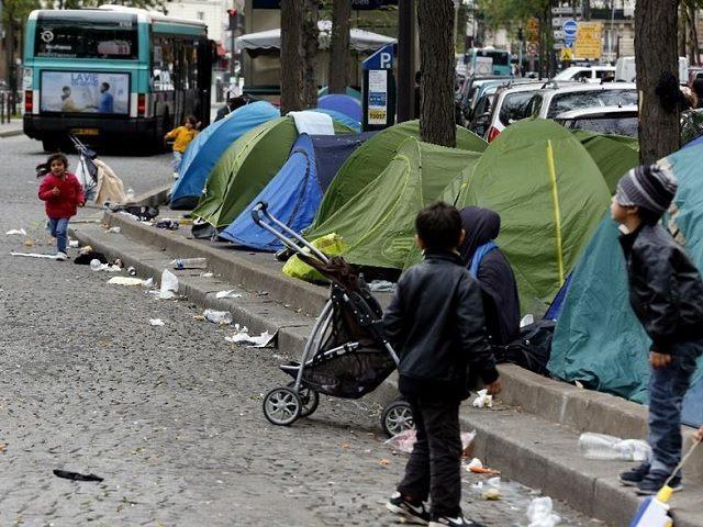 France Refugee Camp AFP