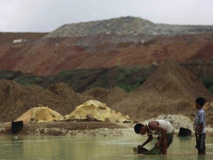 MYANMAR-CHINA-MINING-PROTEST