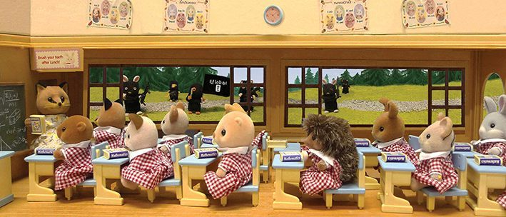 ISIS attack the Sylvanian girls school. (2015)