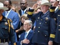 Gov Abbott at Goforth Funeral