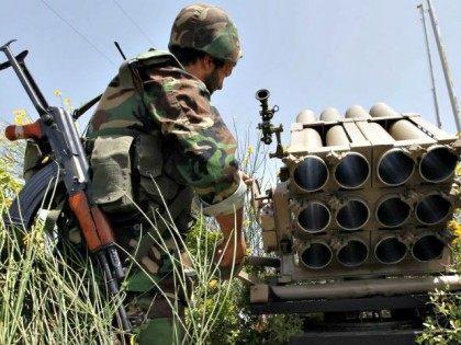 Hezbollah Fighter APHussein Malla