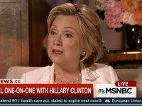 Hillary: 'People In the Government Knew That I Was Using a Personal Account'
