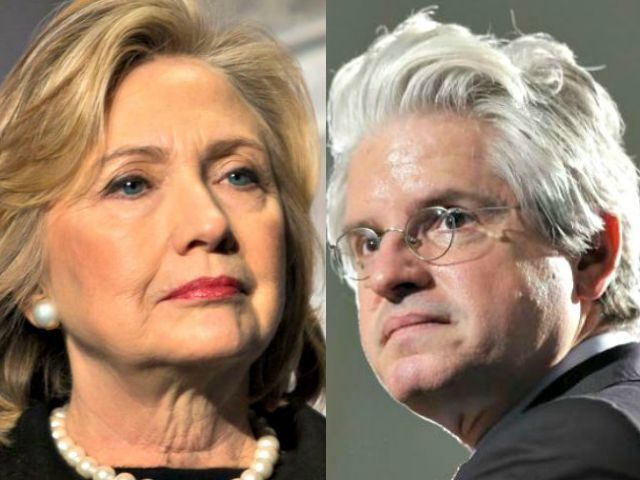 Hillary-Clinton-AP (L) and David Brock AP