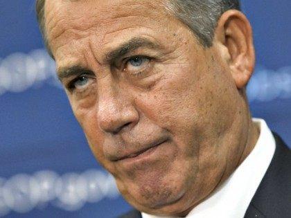 House Speaker Boehner AP