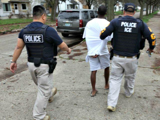 ICE Arrest Detroit Photo ICE