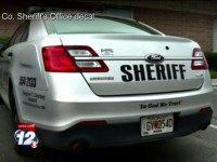 In God We Trust Sheriff Decal 12 News