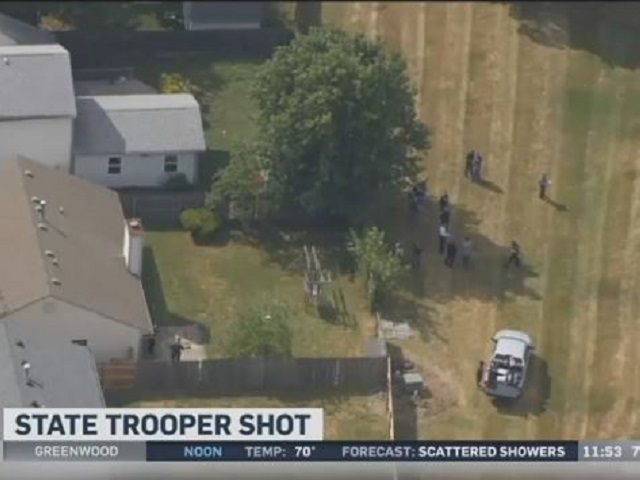 Indiana Trooper Shot