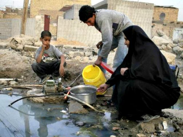 Iraq water supply AFP PhotoWissam al-Okaili