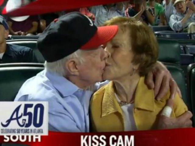 Jimmy Carter Kiss Cam