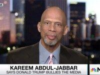 "NBA legend Kareem Abdul-Jabbar appeared on MSNBC's ""The Rachel Maddow …"