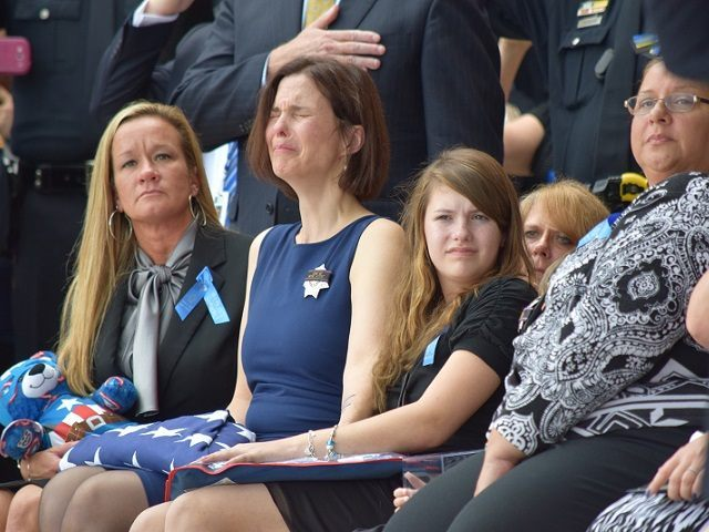 Kathleen Goforth at Funeral