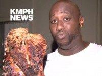 WATCH: Man Saves BBQ Ribs from Apartment Fire