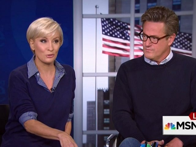 "Mika Brzezinski and Joe Scarborough on 9/21/15 ""Morning Joe"""