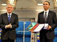 Obama Receives Nobel Peace Prize Official White House Photo by Samantha Appleton