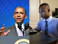 Obama and CJ Pearson
