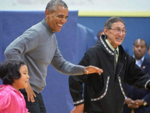 Obama dancing Getty