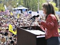 Palin Rallies Tea Partiers AP Photo
