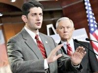 Paul Ryan and Jeff Sessions ApplewhiteAP
