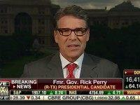 Perry on Taxes: 'I'd Go Back To More the 1986 Model,' But Investors Paying Lower Rate Isn't 'Fair'