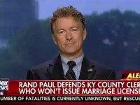 Rand on Kim Davis: I'm 'Sympathetic' and Think 'There's An In-Between On This'
