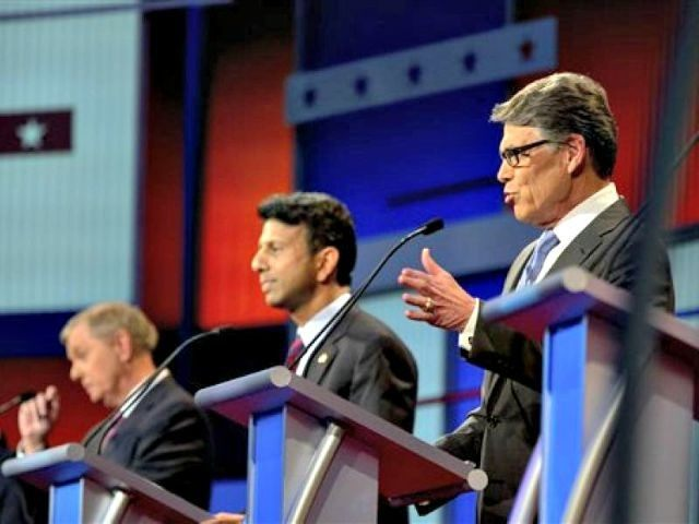 Rick Perry, Bobby Jindal, Lindsey Graham in Debate AP PhotoAndrew Harnik