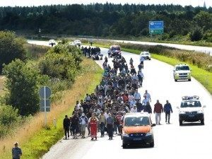 Road Reuters Migrants