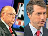 Roger Ailes (L) Reuters and Rich Lowry NBC News