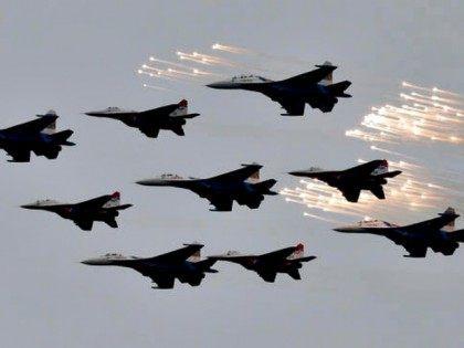 Russian Airstrikes on Syria AP