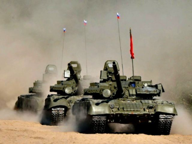 Russian Military Exercises AFP