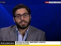 Breitbart London Editor-in-Chief Raheem Kassam Tells Sky: We Can't Take More Refugees at Cost to the UK Public
