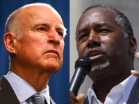Jerry Brown and Ben Carson II (Breitbart News / Wires)