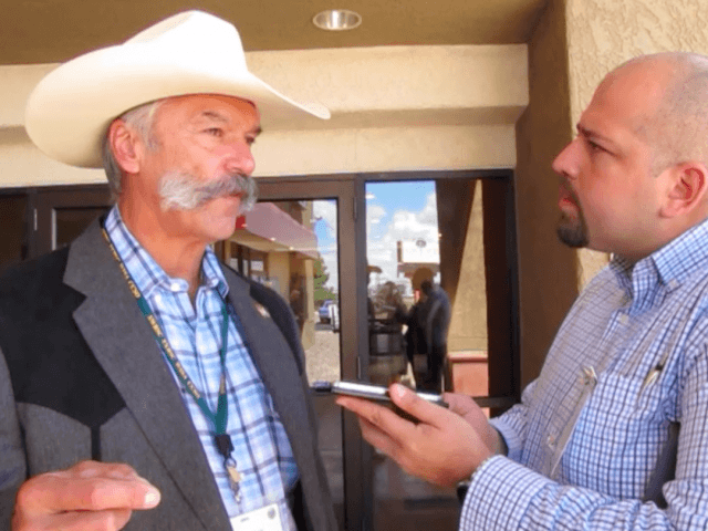 Danny Glick, President of the National Sheriff's Association and Laramie County Sheriff's speaks about the White House's silence while law enforcement is under attack.