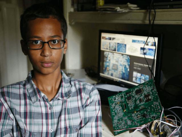 Ahmed Mohamed, clock teen (Associated Press)